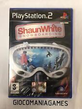 SHAUN WHITE SNOWBOARDING PS2 NUOVO SIGILLATO