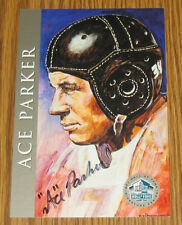 ACE PARKER HOF AUTO Ron Mix Signature Series BROOKLYN DODGERS (#1295/2500)