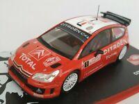 1/43 CITROEN C4 WRC LOEB ELENA 2008 IXO RALLY CAR COCHE ESCALA DIECAST SCALE