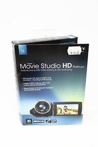 Sony Vegas Movie Studio HD Platinum Edition - PC Video Editing Software - New