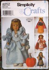 "Simplicity 18"" Doll Dress Pattern 8252 Shirley Botsford P406"