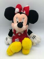 Small Official Disney Store Minnie Mouse Mickey Plush Kids Stuffed Toy Animal