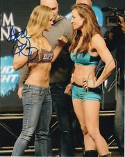MIESHA TATE & RONDA ROUSEY Signed UFC Photo w/ Hologram COA