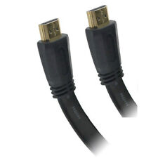 121AV® 7.5M HDMI Flat V2.0 18Gbps HD HighSpeed 4K UHD 2160p 3D Gold Plated Cable