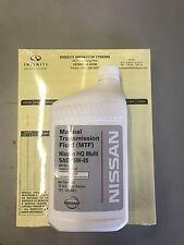 4 QUARTS OF 75W-85 OEM NISSAN INFINITI Manual Transmission Fluid - 999MP-MTF00NP