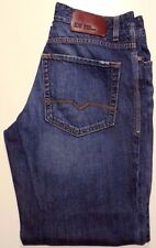 HUGO Boss JEANS 32 30 Mens SIZE Regular FIT Straight COTTON Men SZ Orange LABEL*