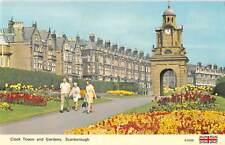 uk10897 clock tower and gardens scarborough  uk