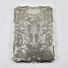 Antique English Victorian Solid Silver Card Case   Alfred Taylor  1854