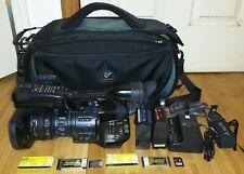 Sony PMW-EX1 XDCAM HD SxS Pro Camcorder 1185 Hour with HD-SDI, HDMI and Extras