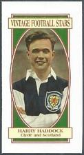 VINTAGE FOOTBALL STARS- #01-CLYDE & SCOTLAND-HARRY HADDOCK