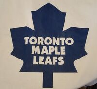 Official licensed vintage NHL Toronto Maple Leafs jersey, CCM, size large