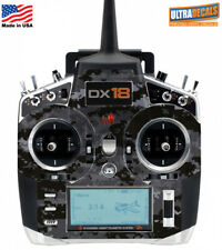 Black Camouflage Spektrum DX18 Transmitter Skin Wrap Decal Radio
