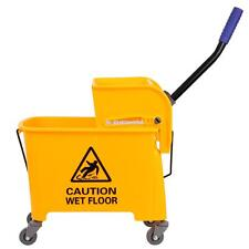 Commercial Rubber Bucket Wringer 20L Mop Yellow