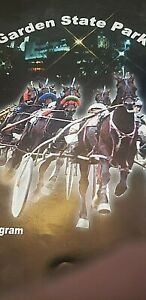 (4) 2000 Garden State Park Harness Racing Programs-last year of harness racing