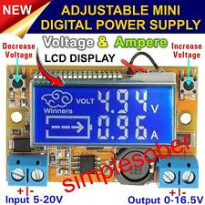 Digital DC Adjustable Stepdown Power Supply Module Voltage Current LCD Display