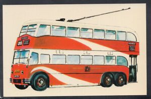 Transport Postcard - A Trolley Bus, Greater Manchester Transport   T3701