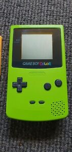 Nintendo Gameboy Color Green with Pokemon yellow