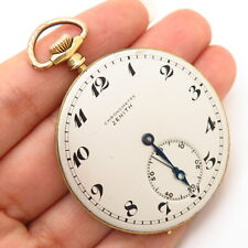 Vintage Zenith Pocket Watch Dial & Movement (For Parts and Repair)