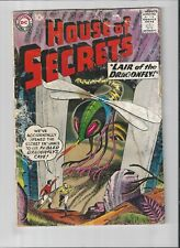 House of Secrets #19 1959  LAIR OF THE DRAGON FLY  ,GOOD CONDITION