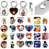 Anime Naruto Finger Ring Phone Grip Tablet Stand Holder For IPhone Samsung LG