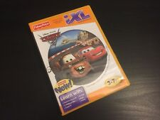 FISHER PRICE DISNEY CARS IXL SOFTWARE FREE SHIPPING! COMPLETE WITH MANUAL! 3-7.