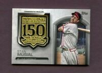 2019 Topps 150th Anniversary Manufactured Medallions #AMMSM Stan Musial