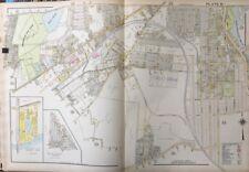 1911 Massachusetts, Chandler Hill & Lincoln Parks, Worcester Oval, Atlas Map