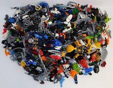 Bulk Lot 6+ Pounds of LEGO Bionicle Assorted Parts, Pieces, Weapons, Masks, Etc.