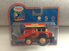 THOMAS & FRIENDS WOODEN RAILWAY JACK TRACTOR AS NEW COLLECTOR CARD LOADER PACK