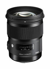 Sigma 50mm f/1.4 HSM DG Art Lens for Canon. Brand new w/warranty!!