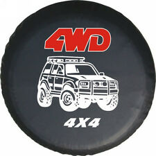 """SUV 4WD 16"""" Spare Wheel Tire Cover Global Accessories Fit for All Car Size L"""