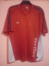 Inghilterra Rosso Bianco Mondiali di Calcio Shirt Germania 2006 Adidas Taglia L Large GC