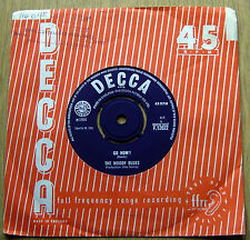 "THE MOODY BLUES-GO NOW!/IT'S EASY CHILD-UK ORIGINAL DECCA 7""SINGLE-1964"