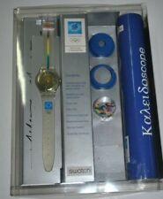Swatch GZ168 KYKLOS KITRINO KALEIDOSCOPE ATHENS 2004 OLYMPIC SIGNED BY HAYEK