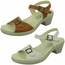 Ladies Easy B Casual Heeled Sandals 'Tilly'