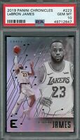 LeBron James Lakers 2019 Panini Chronicles Basketball Card #223 PSA 10 GEM MINT