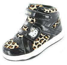 Girls Kids Hello Kitty Cartoon Character Viola Casual Trainer Boot Shoe