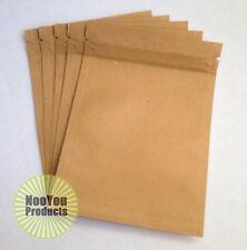 25 Kraft Paper Bags 3.5x5 Baking Food Pouches, Heat Seal Zip Top Storage Package