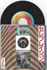 "U2 ""A Celebration"" 7"" NM Japan 7S 69 vinyl Bono The Edge"