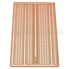 Single Side Copper Prototype Paper PCB Breadboard 2-3-5 Joint Holes 5X10cm