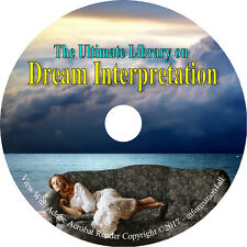 37 Books on CD, Ultimate Library on Dream Interpretation, Sleep Dreams Interpret