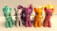 5PC My Little Pony G4 MLP lot Hasbro - Heartstrings ponies brushable hair lot
