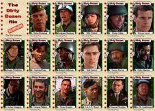 The Dirty Dozen movie Trading cards Marvin Savalas Bronson Brown Sutherland