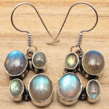 Stores Earrings 925 Silver Plated Natural Labradorite Gems Buy Online Jewelry