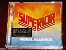 Superior: Moral Alliance CD 2014 Live Bonus Tracks Tribunal Divebomb DIVE064 NEW