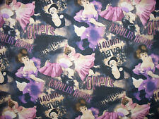 MOULIN ROUGE PURPLE COTTON FABRIC FQ OOP