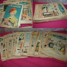 LOT ENFANTINA / LISETTE JOURNAL DES FILLETTES 1938 31 Numéros