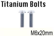 x2 New Titanium Bolt M6x20mm M6 20L Tapered Torx T30 Ti Screw Cycle Bicycle Bike