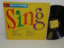 THE JACK JACKSON CHORALE Sing LP Rondo ST 582 stereophonic original vinyl album