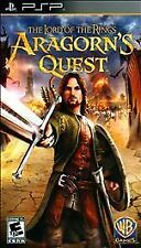 The Lord Of The Rings Aragorn's Quest PSP (Video Games, 2010, Everyone 10+) New